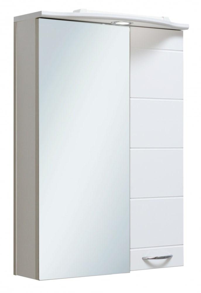 Шкаф зеркальный навесной  Кипарис 50 - фото 5366