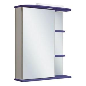 Шкаф зеркальный навесной  Магнолия 60  /левый/ синий - фото 5370