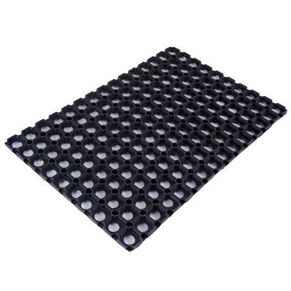 Ячеистый резиновый коврик 80х120 см - 16 мм CleanWill - фото 5471