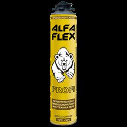 Пена пистолетная «ALFA Flex Profi 65» всесезонная, до 65 л, 1005 гр - фото 30095