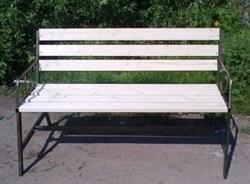 Скамейка со спинкой Т320 - фото 32893