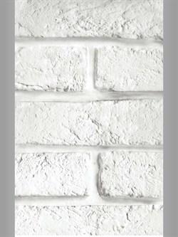 Панель ПВХ кирпичи белые 6,75м2 0,25х2,7х0,008 (№347) - фото 5023