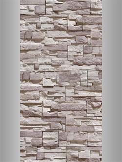 Панель ПВХ Камень серый 6,75м2 0,25х2,7х0,008 (№345) - фото 5042