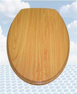 Сиденье для унитаза (нат. светлое дерево) Турция W401 - фото 5055