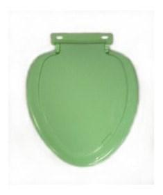 Сиденье для унитаза овал зеленое - фото 5061