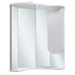 Шкаф зеркальный навесной  Бис 40  /угловой/ правое крыло - фото 5361