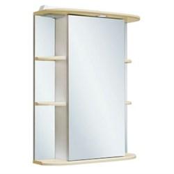 Шкаф зеркальный навесной  Гиро 55  /правый/ бежевый - фото 5364