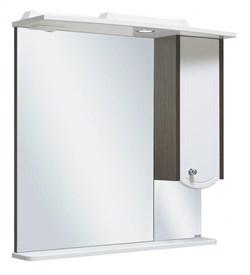 Шкаф зеркальный навесной  Руно Аликанте 60 - фото 5371