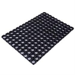 Ячеистый резиновый коврик 50х100 см - 16 мм CleanWill - фото 5470