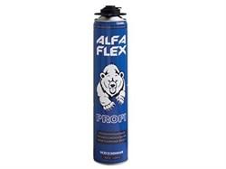 Пена пистолетная «ALFA Flex Profi 45» всесезонная, до 45 л, 847 гр - фото 5528