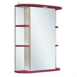 Шкаф зеркальный навесной  Гиро 55  /правый/ красный - фото 6545