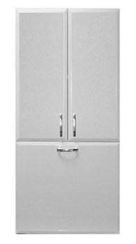Шкаф над стиральной машиной 60 см с Б/К Белый 0282-ШК-60 - фото 6625