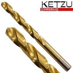 Сверло по металлу с титановым покрытием KETZU  6,0 мм - фото 6897