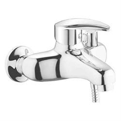 ДВ5 Смеситель для ванны, короткий излив, однорычажный - фото 7123