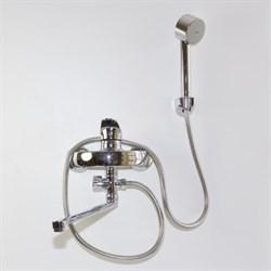 Смеситель для ванны и умывальника 40k MIXLINE ML03-02 - фото 7128