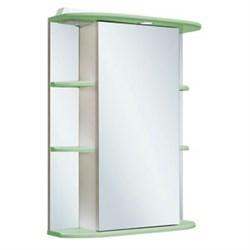 Шкаф зеркальный навесной  Гиро 55  /правый/ салатовый - фото 7260