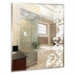 Зеркало MIXLINE  Шоколад  600*800 светодиодная подсветка, фацет - фото 7300