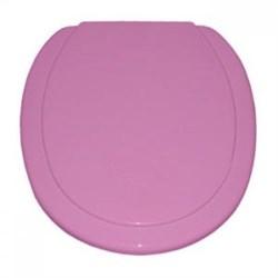 Сиденье для унитаза  розовое, тип 3 (СПб) - фото 7315