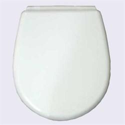 Сиденье для унитаза мягкое (белое) - фото 8255