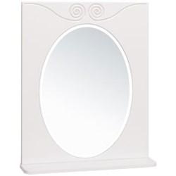 Шкаф зеркальный навесной  Винтаж 60  /белый/ - фото 8542