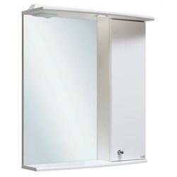 Шкаф зеркальный навесной  Ирис 55  /правый/ - фото 8574