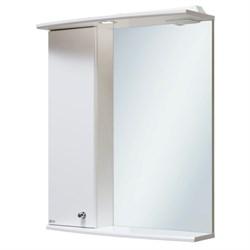 Шкаф зеркальный навесной  Ирис 55  /левый/ - фото 8576