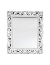 Зеркало Версаль в раме 104х90 (патина: серебро)