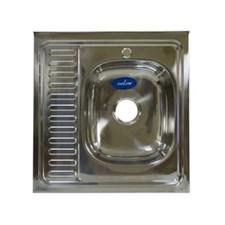 Мойка 60х60 (0,6) прав вып 3 1/2 MIXLINE 16см с сифоном