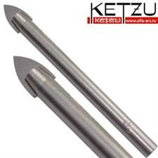 Сверло по стеклу  (керамике) KETZU  9 мм