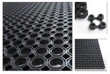 Ячеистый резиновый коврик 50х100 см - 16 мм Clean Will