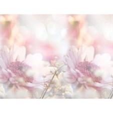 Интерьерная панель  Розовые герберы  3000х600 мм (1)