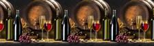 Интерьерная панель 2 м,  Вино  2000х600 мм (1)