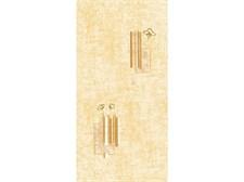 Панель ПВХ золотой янтарь 6,75 м2 0,25х2,7х0,008(№112/6006/1)
