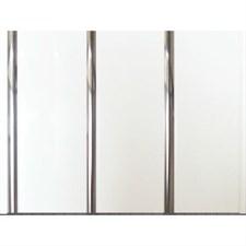 Панели ПВХ софитто S3S хром 3000*240*8мм