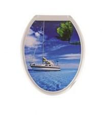 Сиденье для унитаза  Универсал Декор  Яхта