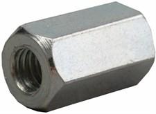 Гайка шестигранная удлиненная DIN 6334 М 20 цинк