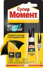 КЛЕЙ МОМЕНТ СУПЕР ВОДОСТОЙКИЙ 3 Г (12/144) ХЕНКЕЛЬ
