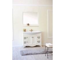 Зеркало Валенсия 105 Р со шкафчиком (9001)