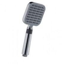 Лейка FRAP G08 люкс квадрат 3 поз хром (с обрат.клапаном)