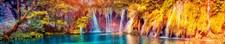 Фартук кухонный  АБС Осенний водопад 1,5х600х3000мм (1,8м2)