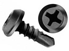 Саморезы металл-металл сверло  3,5-3,9х 9,5 оксид  кор. 1 кг
