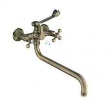 Смеситель для ванны и умывальника 1/2 кер 2619-4F FRAP бронза