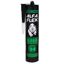 Клей жидкие гвозди ALFA Flex 94, универсальный эко, бежевый, 280 мл