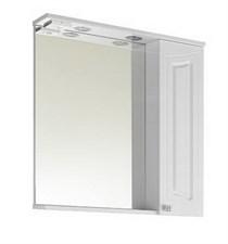 Зеркало Адам 65 см Белое ПР