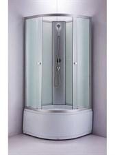 Душ.каб. NG-2308-14G (90х90х220) высокий поддон стекло МАТОВОЕ
