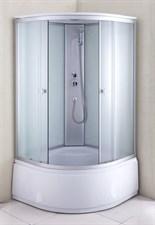 Душ.каб. NG-2309-14G (100х100х220) высокий поддон стекло МАТОВОЕ