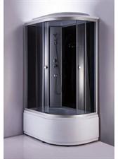 Душ.каб. NG-2510-14L (1200х800х2200) высокий поддон стекло ТОНИРОВАННОЕ 3 места