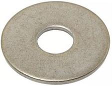 Шайба плоская  5,3 DIN 9021 усиленная нерж. А2 (500 шт)