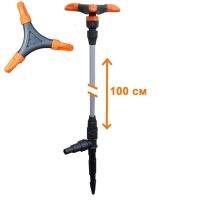 Распылитель удлиненный  ЖУК  3-х лепестковый для шланга 1/2 -3/4  (100см)