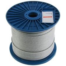 Трос для растяжки  DIN 3055  4 мм ( 250м) нерж.